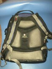 SWISS GEAR BY WENGER BACKPACK COMPUTER LABTOP SHOCK ABSORBING COLOR - BLACK