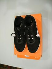 Nike Training Zoom Fit Women'S Black & White Tennis Athletic Shoes Size 10 Us