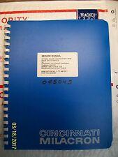 Cincinnati Milacron Manual 3-Tc-88122-1 Cinturn Turning Center 1208 1210 1212