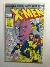 Official Marvel Index To The X-Men 1 2 Near Mint Nm Marvel
