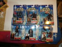 Star Wars Attack of the Clones 2001 Figures MOSC
