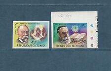 Tchad  lauréats du   prix Nobel   de 1976  num:  322/23  D et   ND **
