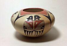 Elva Nampeyo, Hopi/Tewa pot with eagle design