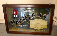 A Large John Smith's Advertising Mirror, Pub Mirror for Magnet Ales