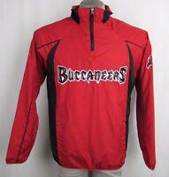 Tampa Bay Buccaneers NFL Men's Quarter-Zip Pullover Windbreaker Jacket