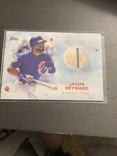 2020 Topps Holiday Game Used Relic #WHR-JY Jason Heyward (Check Out The Dirt!!)