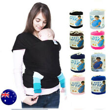 SALE !!! Baby Infant Moby Cotton Stretchy Adjustable Wrap Carrier Sling 8 Colors