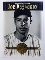 2001 01 Upper Deck Cooperstown Collection Joe DiMaggio #46, New York Yankees