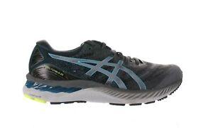 ASICS Mens Gel-Nimbus 23 Carrier Grey/Digital Aqua Running Shoes Size 9.5
