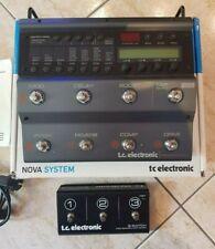 TC Electronic Nova System + G Switch pedaliera multieffetto chitarra elettrica