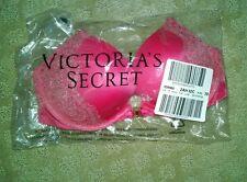 Victoria secret very sexy lace trim cutout p/u 32C pink NWT MFSRP 62.00