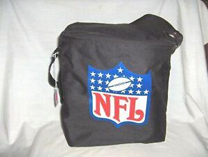 #332--NFL THERMAL INSULATED COOLER BAG WITH ADJUSTABLE SHOULDER STRAP - FOOTBALL