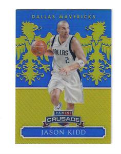 JASON KIDD 2014/2015 EXCALIBUR CRUSADE BLUE PRIZM #133 /149 $20 DALLAS MAVERICKS