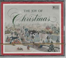 THE JOY OF CHRISTMAS - READERS DIGEST 3 CDS BRAND NEW FREE GIFT