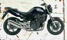 Honda CBF600 2004 aged vintage signe A3 grand rétro