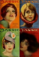 75 OLD ISSUES OF MOTION PICTURE CLASSIC - MOVIES FAN MAGAZINE (1916-1930) ON DVD