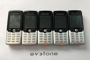 Sony Ericsson T610 Mobile Phones - Job Lot vintage / Retro - All Powered Up!