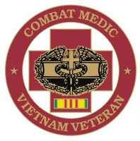 VIETNAM VETERAN COMBAT MEDIC PIN