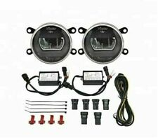 LAND ROVER LR4 / DISCOVERY 4 2010-2016 LED DRL FOG LIGHTS LAMPS SET BLACK STYLE