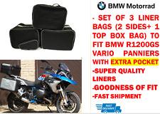Bisaccia Fodera Borse & Top Box Borsa Per BMW R1200 GS Vario con tasca esterna