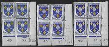 n°1005 N** en 3 coins datés différents: Saintonge