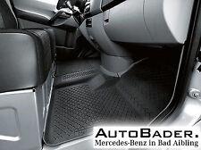 Original Mercedes-Benz Gummimatte Fußmatte Sprinter 906 ohne Bodenkanal 2-teilig