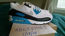DS NIKE 2010 AIR MAX 90 LASER BLUE US 12 WHITE/BLACK-ZEN GREY