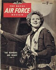 RAF REVIEW MAY 52 DOWNLOAD: BOMBER C'MND READY/RAF REGIMENT-MALAYA/CHAS BROWN
