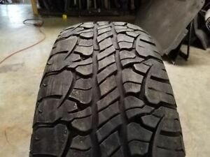 "Used - BFGoodrich Rugged Terrain TA Tire - Size 255/70/18 - 7/32"" Tread Depth"