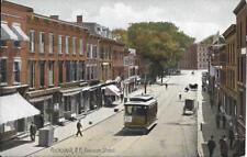 Division Street Peekskill Westchester County NY Handsome Vintage postcard unused