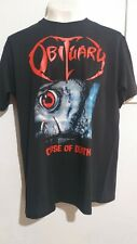 Obituary cause of death T shirt death metal morbid angel deicide cannibal corpse