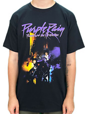 More details for prince & the revolution purple rain unisex official t-shirt brand new 2020