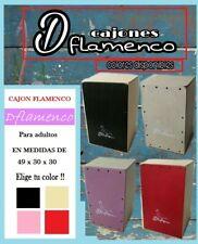 Cajon Flamenco Dflamenco, modelo para adulto.Nuevo de Fabrica. Elije tu color!!