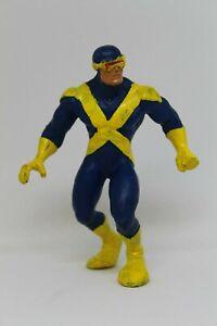 Figura de Accion  de Goma CICLOPE, TM y Marvel España 1990 Patrulla X, 9cm alto.