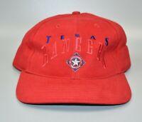 Texas Rangers MLB Twins Enterprise Vintage 90's Strapback Cap Hat - NWT