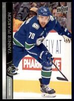 2020-21 UD Series 1 French #178 Tanner Pearson - Vancouver Canucks