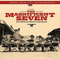 Elmer Bernstein - Magnificent Seven Ost + 4 Bonus Tracks [New CD] Bonus Tracks,