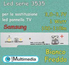 10 Led 3535 per retroilluminazione TV Samsung 1W 3V 100-110LM