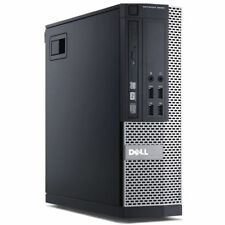 Dell Optiplex 9020 SFF i5-4570 QC 3.20Ghz 8GB Ram 128Gb SDD Win 10 Desktop PC