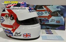 Nigel Mansell 1994 1:2 Helmet Missing Vinyl Decals Stickers F1 Champion