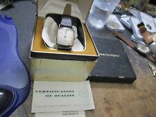 HAMILTON WRIST Watch RUNNING IN AND WITH ORIGINAL BOX AND PAPERS