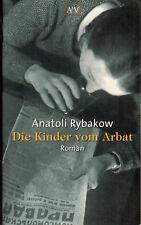 Anatoli rybakow, los niños del arbat, Roman, construcción Taschenbuch Verlag EA 2002
