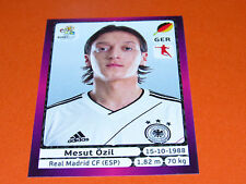 241 ÖZIL DEUTSCHLAND REAL MADRID FOOTBALL PANINI UEFA EURO 2012