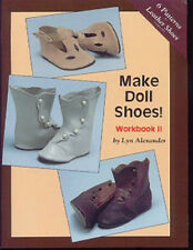 MAKE DOLL SHOES WORKBOOK II Leather Shoes Boots Sandals