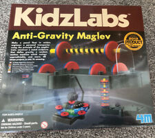 4M Kids Labs Anti Gravity Magnetic Levitation Kit - Defy gravity and learn. New