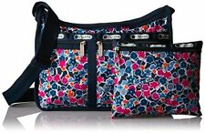 LeSportsac 7507 DeLuxe Everyday Bag Delightful Navy NWT