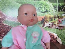 "Berenguer Babies Happy 14"" Baby Doll, Soft Body Kissable Lamb"