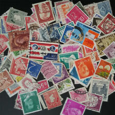 100Pcs Different World Stamps Collection Paper Mixed Random Send Stamp Supply