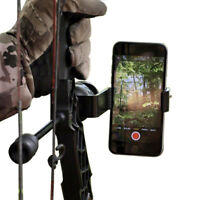 Compound Bow Smartphone Mount Camera Holder for PSE HOYT Archery Target Shooting