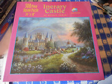 Sunsout Iterary Castle 500 Piece Jigsaw Puzzle Sealed